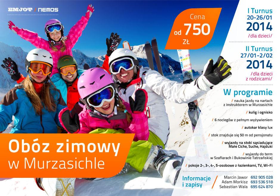 Obóz zimowy dla dzieci i rodziców