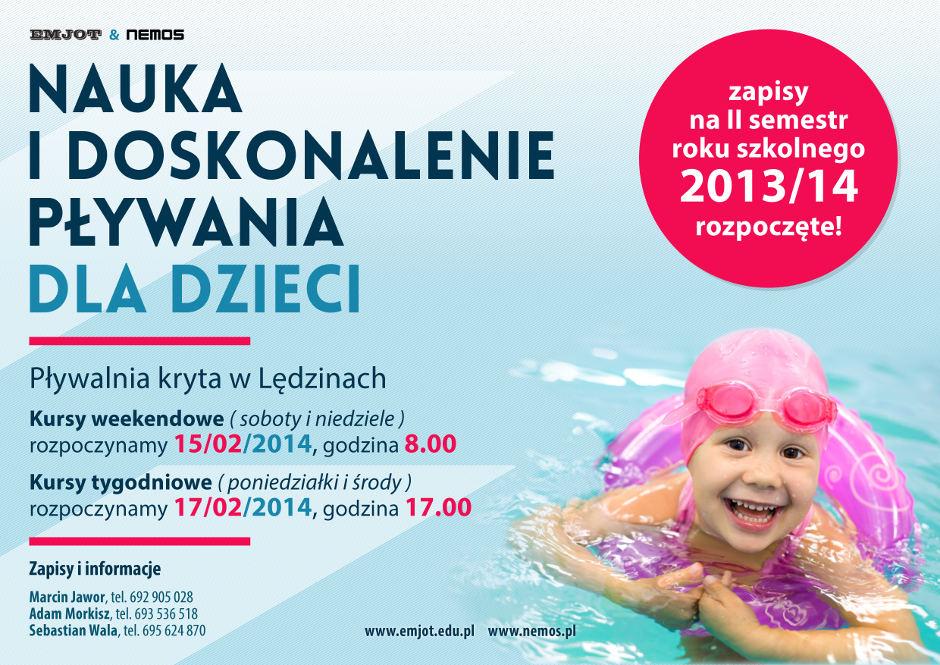 Nauka i doskonalenie pływania dla dzieci