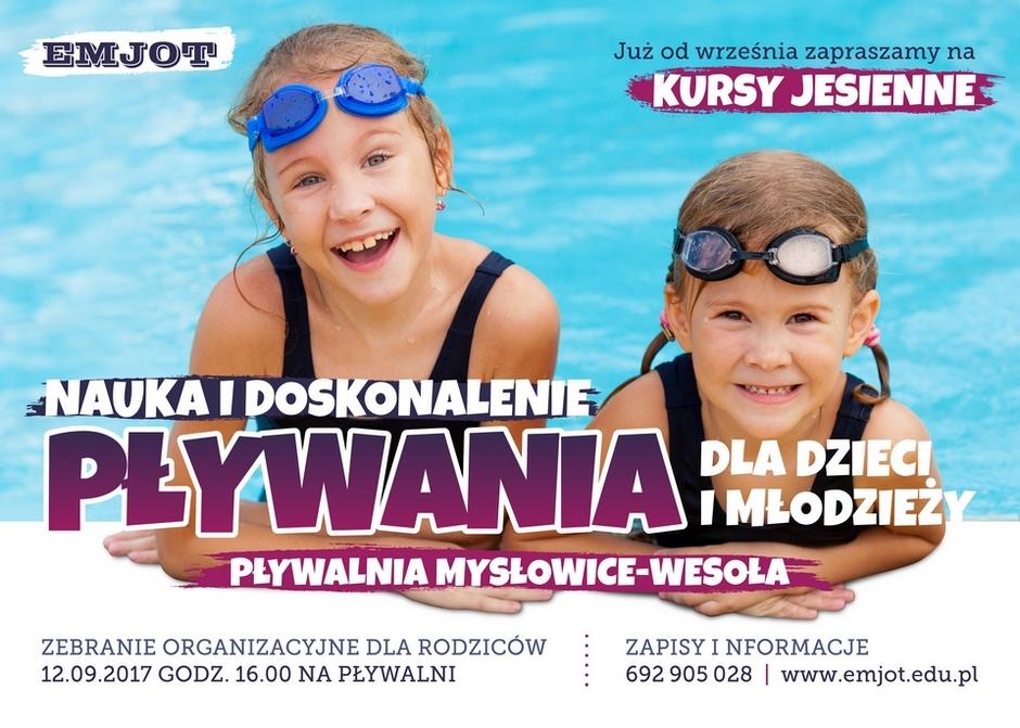 Nauka pływania w Mysłowicach – kursy jesienne