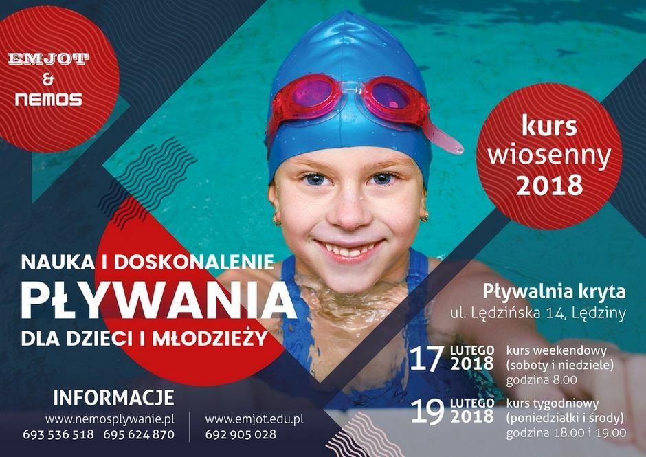 Nauka i doskonalenie pływania dla dzieci – kursy wiosenne 2018