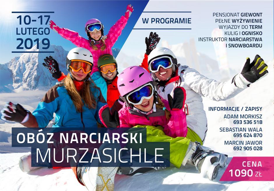 Obóz narciarski w Murzasichle 2019