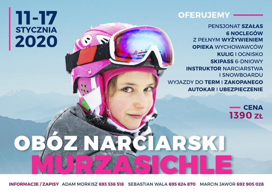 Obóz narciarski w Murzasichle 2020